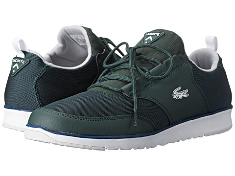 Lacoste - L.Ight Trf5 (Dark Green/White) Men