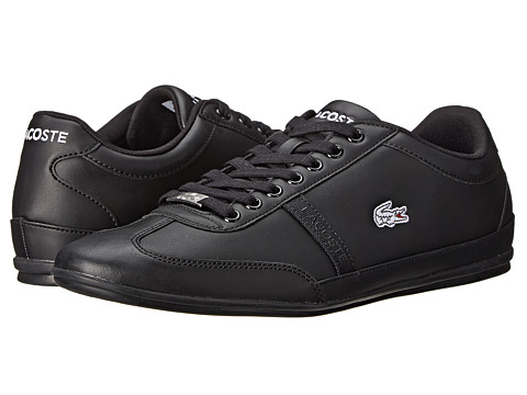 Lacoste - Misano Sport SCY (Black/Black) Men's Shoes