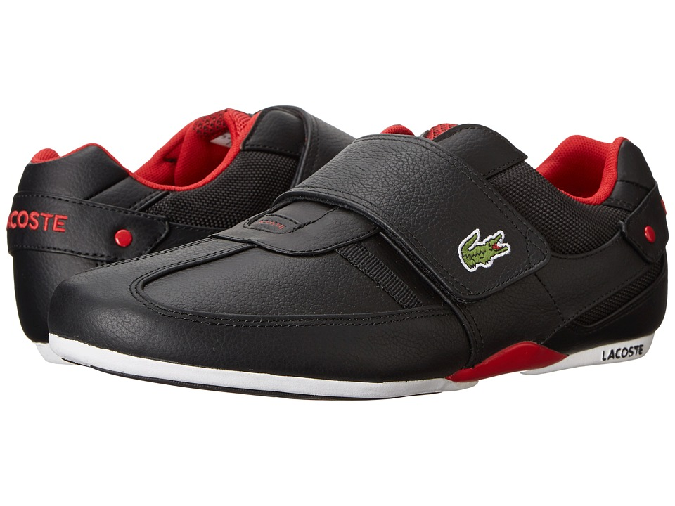 Lacoste - Protected CR (Black/Red) Men's Shoes