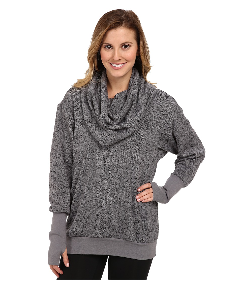 COZY ORANGE - Phoebe Pullover (Heather Charcoal/Charcoal) Women