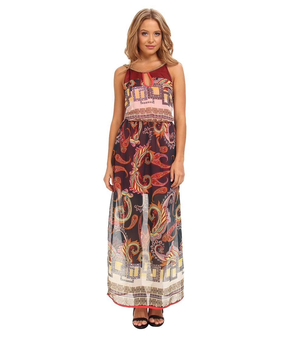 KAS New York Alawa Maxi Dress (Paisley Print) Women