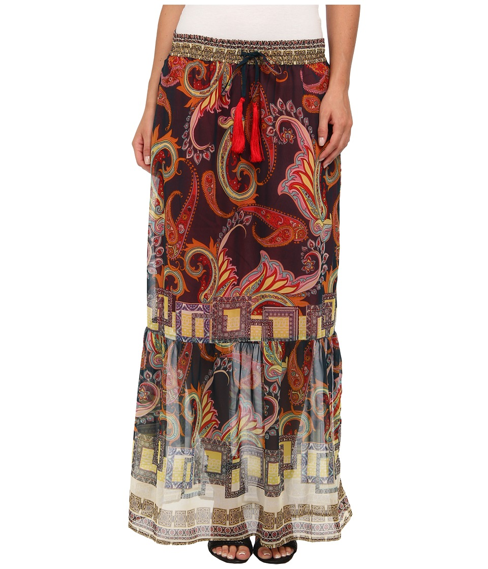 KAS New York - Kimi Maxi Skirt (Paisley Print) Women's Skirt