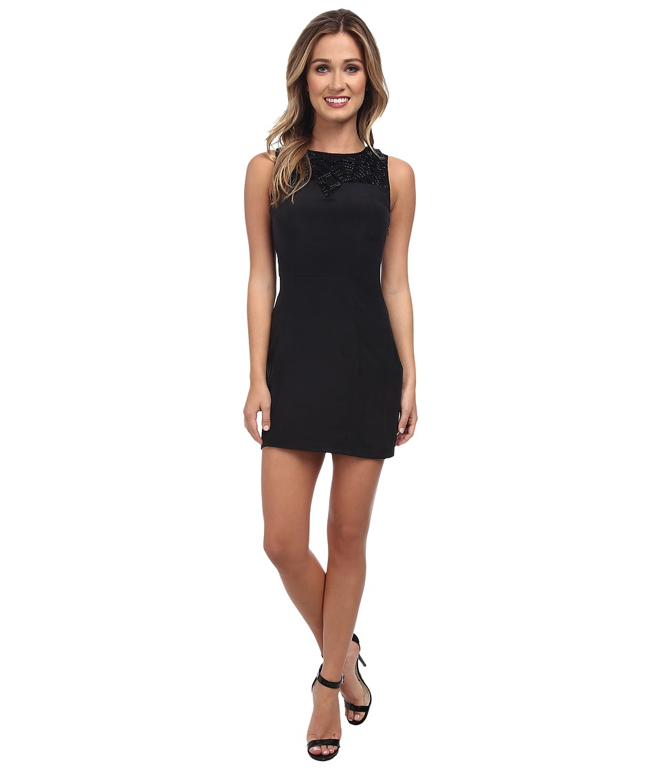 KAS New York Lucina Shift Dress (Black) Women