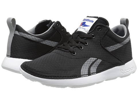 Reebok Kids - Royal Simple (Big Kid) (Black/White/Flat Grey) Boys Shoes