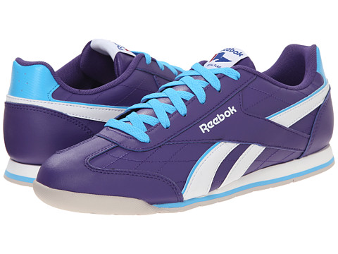 Reebok Kids - Royal Attack (Little Kid/Big Kid) (Sport Violet/Blue Beam/White/Steel) Girls Shoes