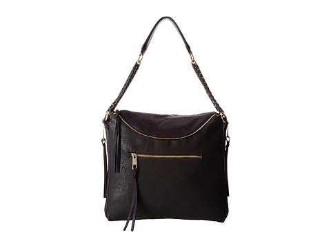 Big Buddha - Hadley (Black) Satchel Handbags