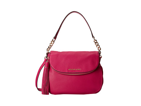 MICHAEL Michael Kors - Bedford Medium Convertible Shoulder (Fuchsia) Satchel Handbags