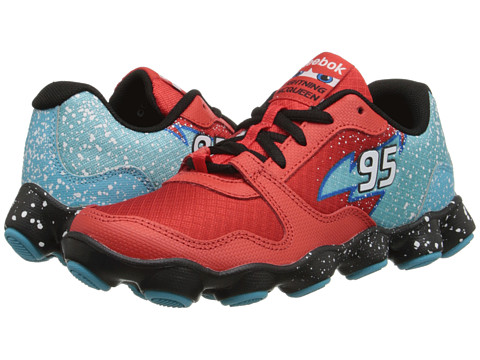 Reebok Kids - Cars ATV19 (Little Kid) (China Red/Black/Neon Blue/Modern Blue/White) Boys Shoes