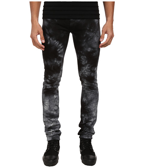 Versace Jeans - Slim Washed Denim (Black) Men's Jeans