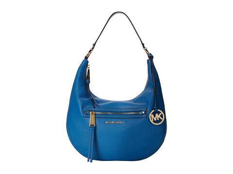 MICHAEL Michael Kors - Rhea Zip Medium Zip Shoulder (Heritge Blue) Shoulder Handbags