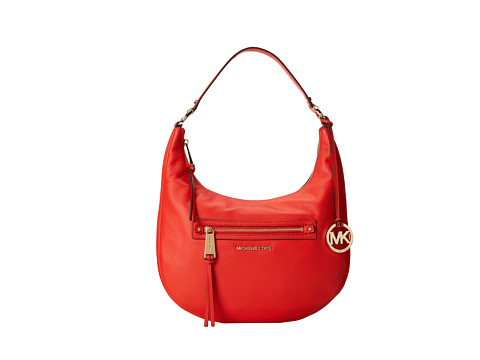 MICHAEL Michael Kors - Rhea Zip Medium Zip Shoulder (Mandarin) Shoulder Handbags