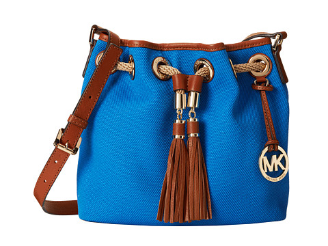 65c02ccecb9b ... UPC 888235846873 product image for MICHAEL Michael Kors - Marina Medium  Messenger (Heritge Blue) ...