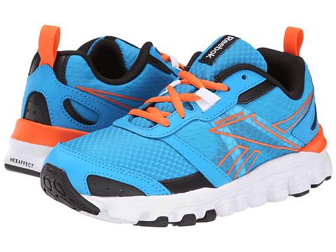 Reebok Kids - HexAffect Run (Little Kid) (Energy Blue/Black/Vivid Tangerine/White) Boys Shoes