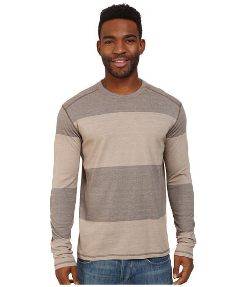 Prana - Keller L/S Crew (Mud) Men's Long Sleeve Pullover