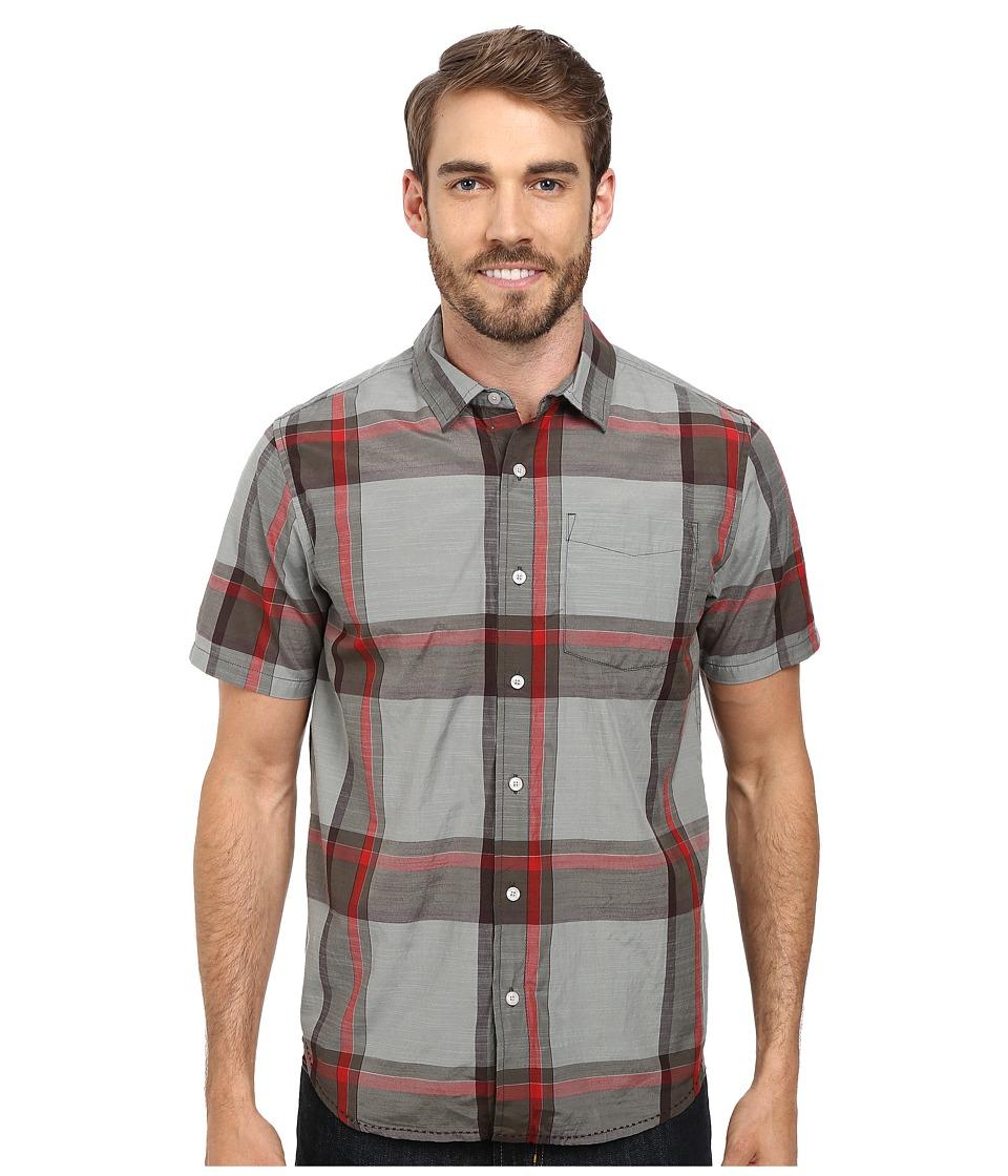 PRANA Ecto (Cargo Green) Men's Short Sleeve Button Up