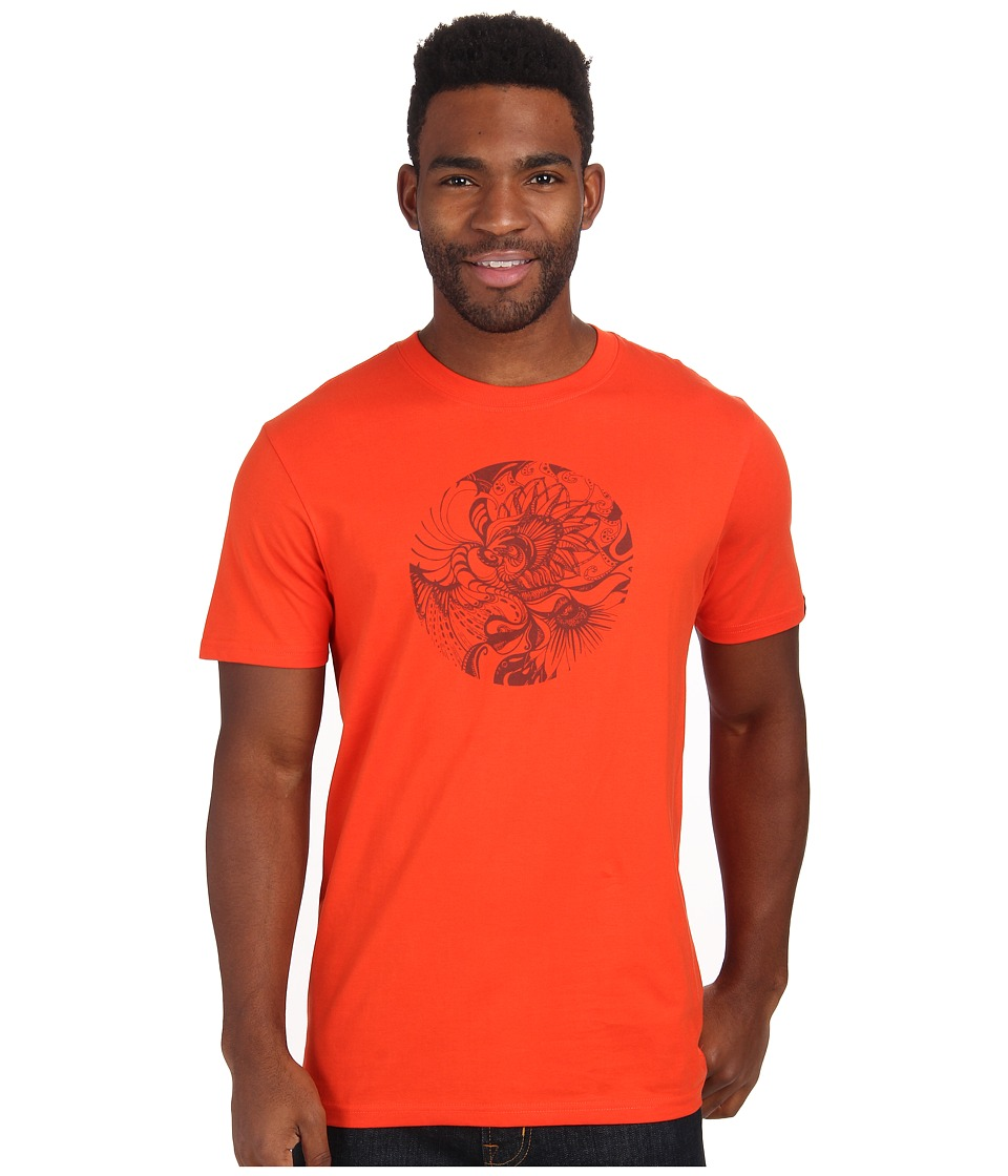 Prana - Mindful (Electric Orange) Men's T Shirt