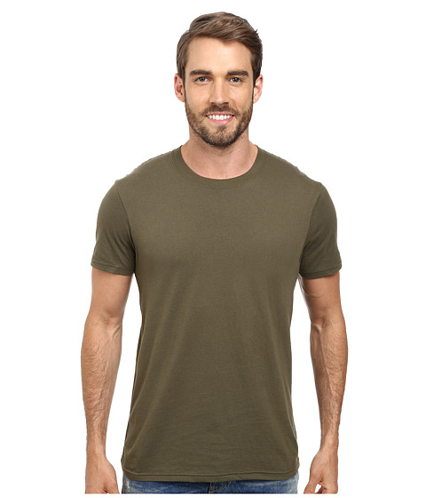 Prana - Prana Crew Tee (Military Green) Men's T Shirt