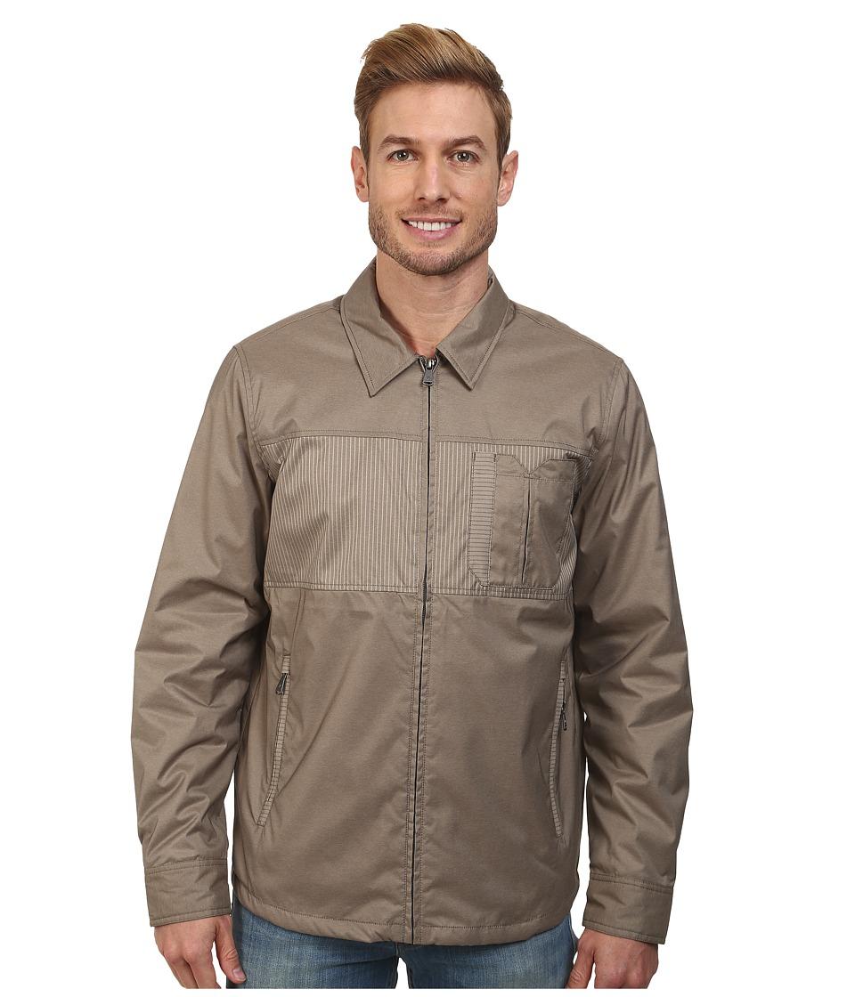 Prana - Hardwin Shirt Jacket (Earth Grey) Men's Jacket