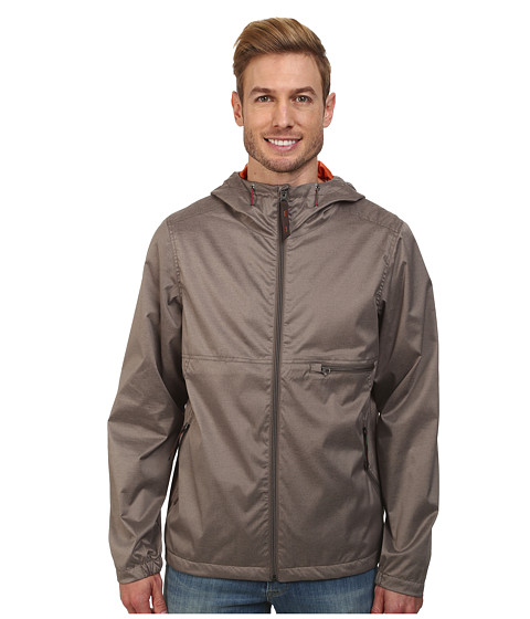 Prana - Grayson Jacket (Earth Grey) Men's Coat