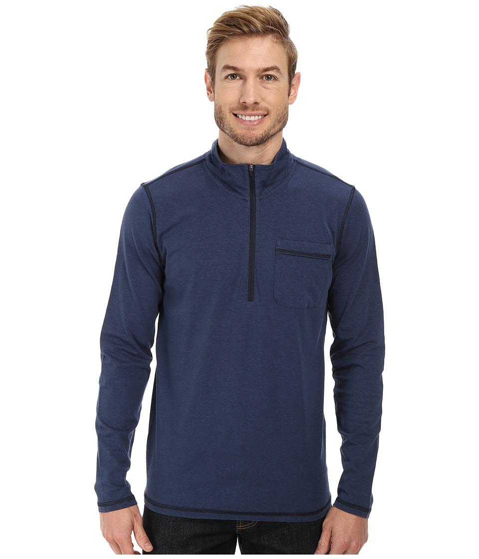 Prana - Guthrie 1/4 Zip Jacket (Blue Ridge) Men