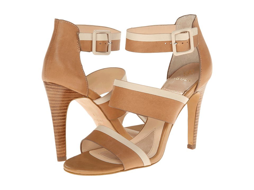 Isola Brianna (Tan/Beige M-Vege/Lucky Calf Milled) High Heels