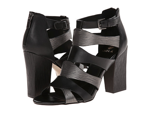Isola - Carlota (Black/Anthracite M-Vege/Foil Print) High Heels