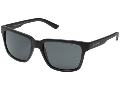 AX Armani Exchange - 0AX4026S (Black/Matte Black) Fashion Sunglasses
