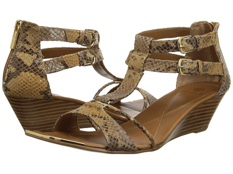 Isola - Phoenix (Honey Elizabeth Snake) Women's Wedge Shoes