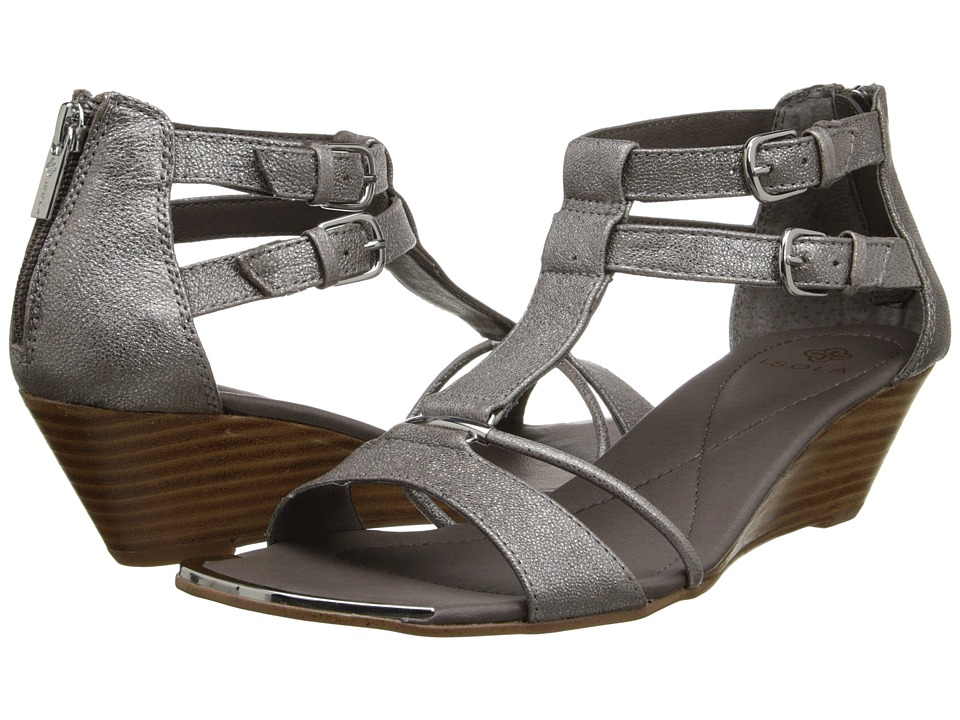 Isola - Phoenix (Anthracite Porcelain) Women's Wedge Shoes