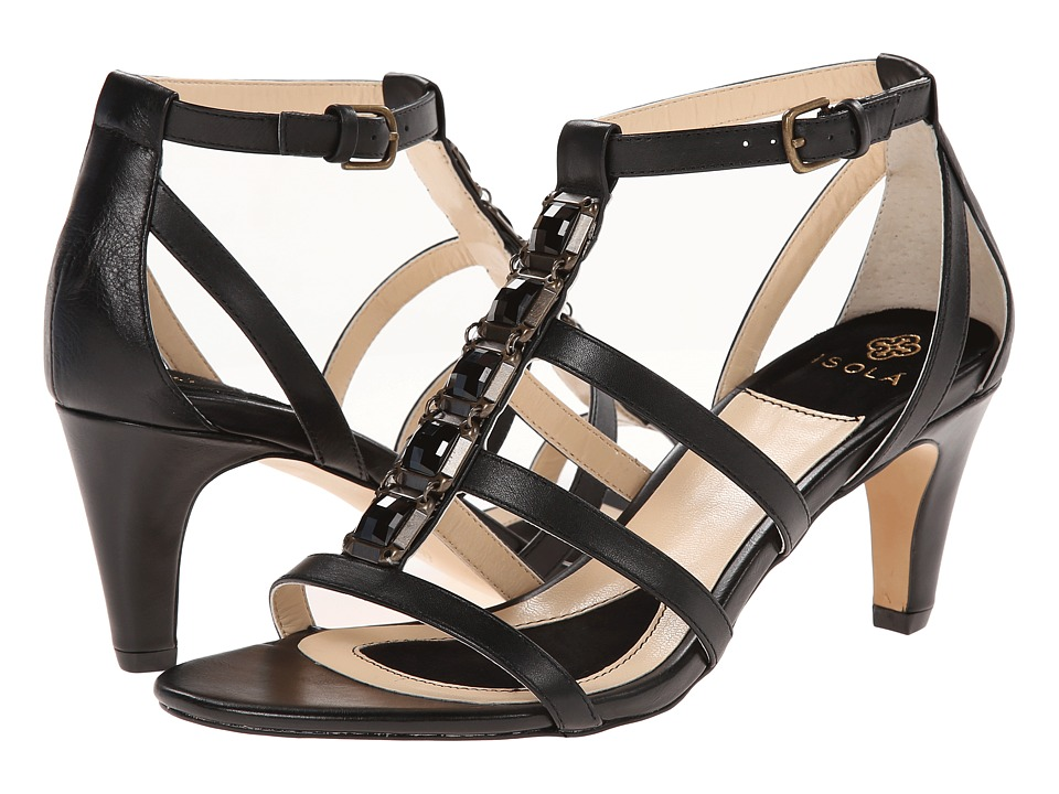 Isola - Mairi (Black Lucky Calf Milled) High Heels