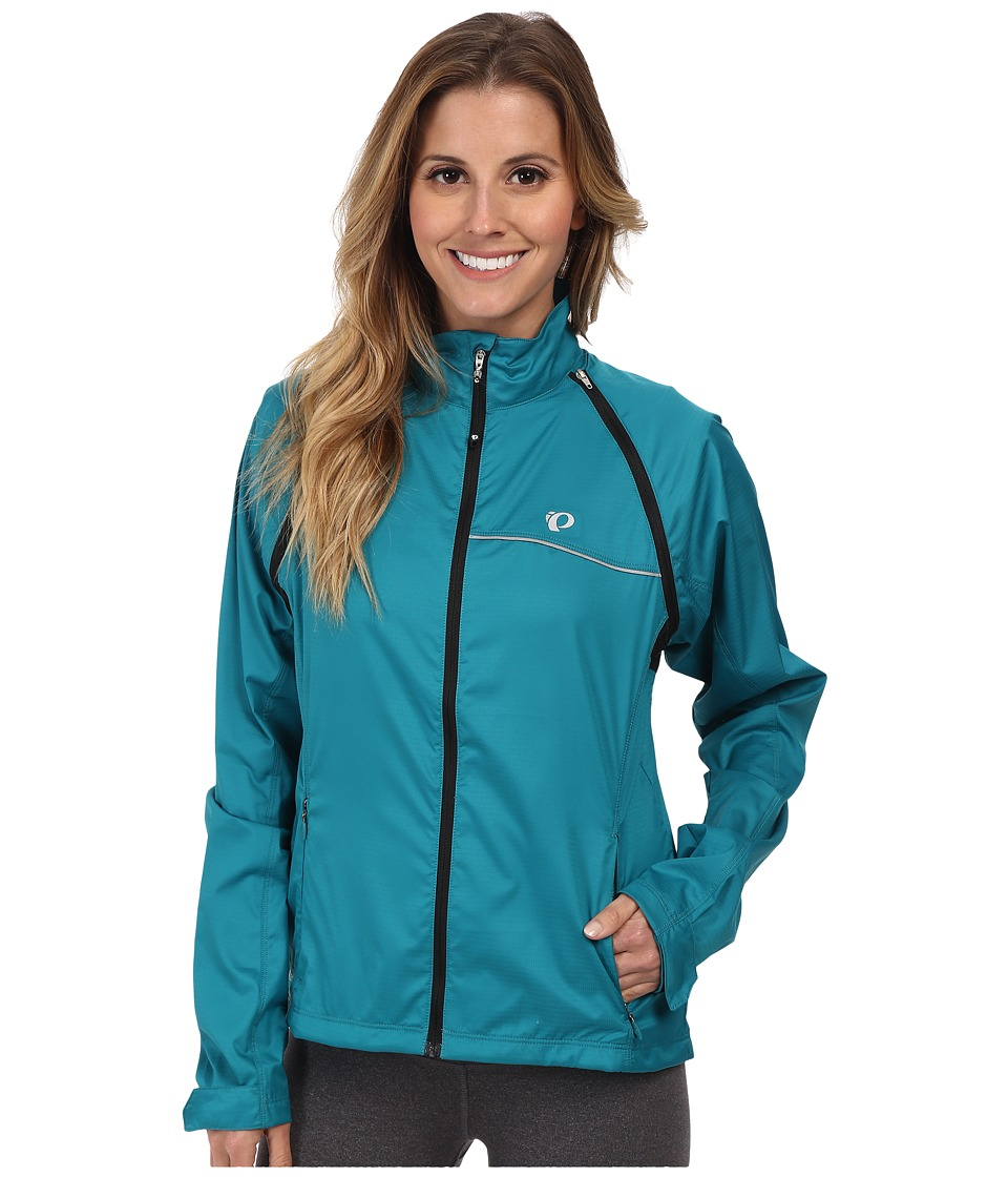 Pearl Izumi - W ELITE Barrier Convertible Cycling Jacket (Deep Lake) Women's Jacket