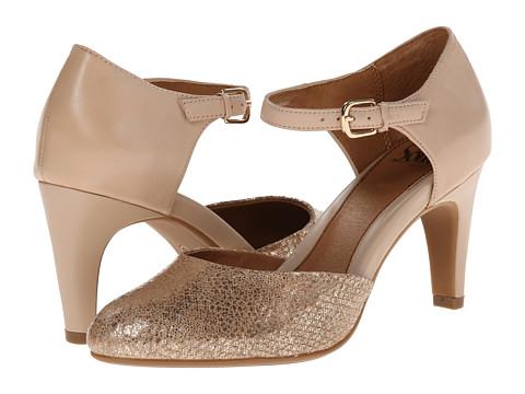 Sofft - Palesa (Blush Nappa/Soft Gold Metallic) High Heels