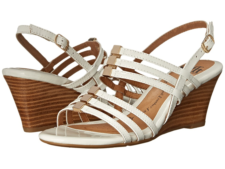 Sofft - Posh (White Patent) Women's Wedge Shoes
