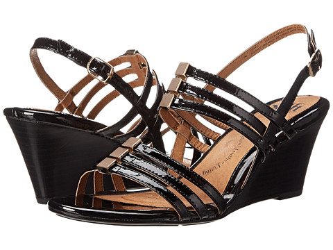 Sofft - Posh (Black Patent) Women's Wedge Shoes