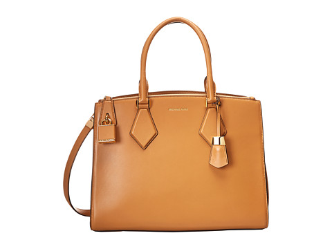 Michael Kors - Casey Large Satchel (Peanut) Satchel Handbags