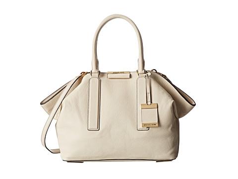 Michael Kors - Lexi Large EW Satchel (Vanilla) Satchel Handbags