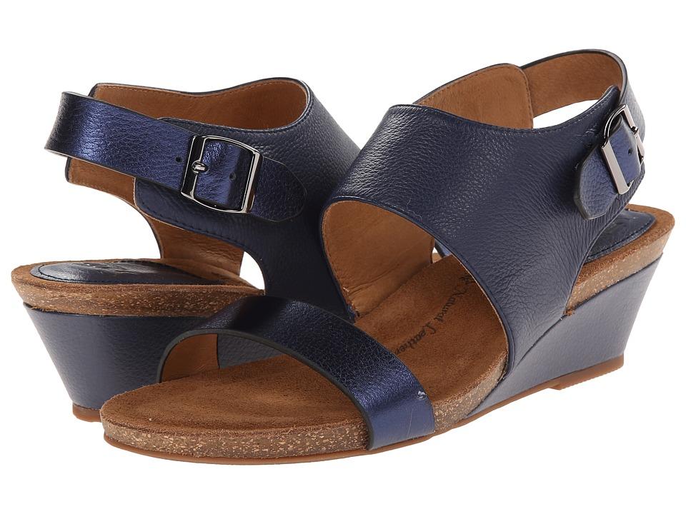 Sofft - Vanita (Sport Navy Odyssey/Blue Metallic) Women's Wedge Shoes