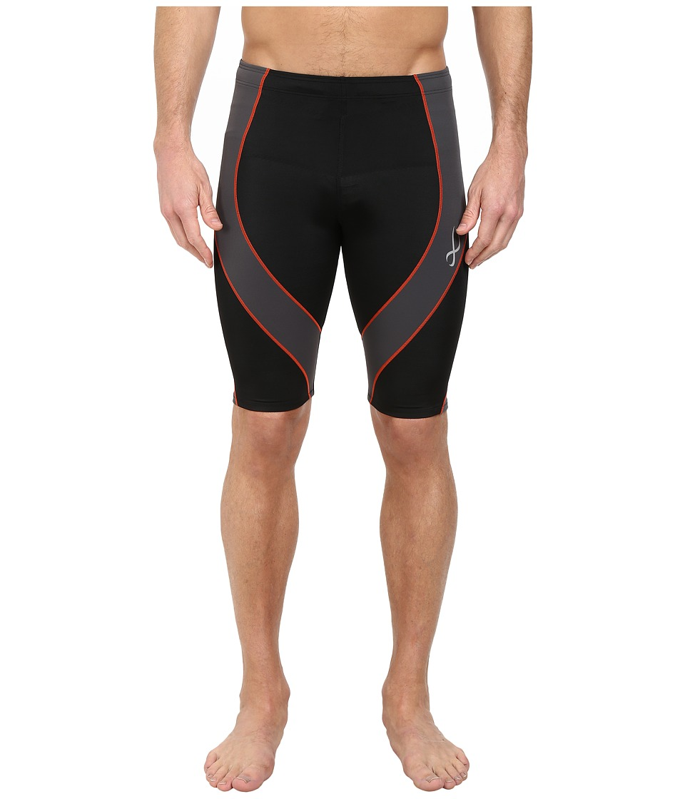 CW-X - Pro Short (Black/Grey/Orange) Men's Shorts