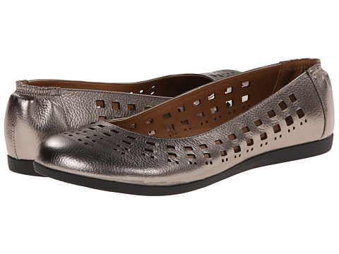 Sofft - Pami (Anthracite Metallic) Women's Flat Shoes