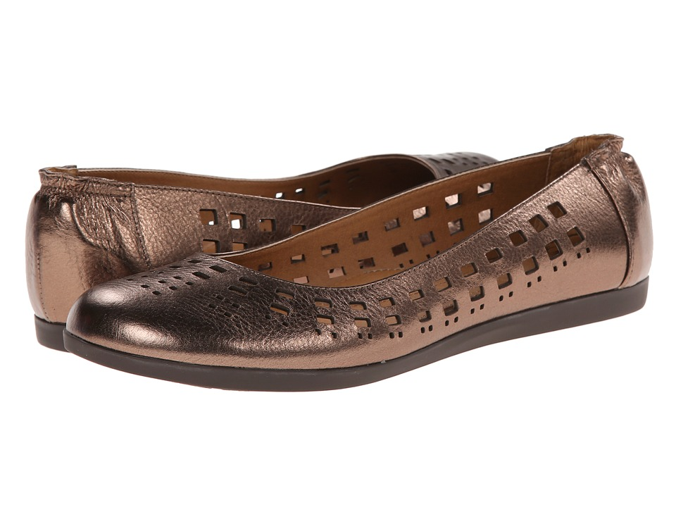 Sofft - Pami (Copper Metallic) Women's Flat Shoes