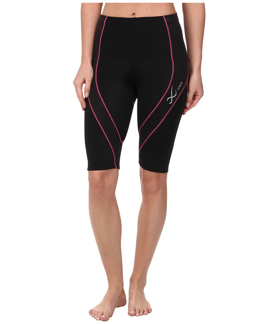 CW-X - Pro Short (Black/Sweet Pink) Women's Shorts