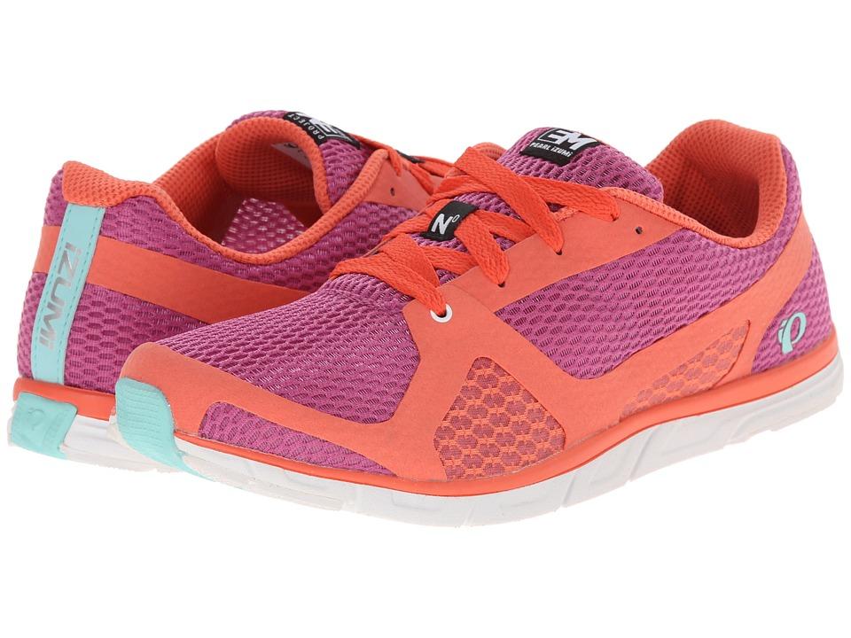 Pearl Izumi - Em Road N 0 (Rose Violet/Living Coral) Women's Running Shoes
