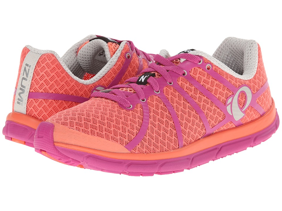 Pearl Izumi - Em Road N 1 (Living Coral/Rose Violet) Women's Running Shoes