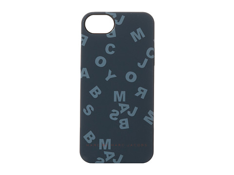 Marc by Marc Jacobs - Scrambled Logo Phone Case (Gunmetal Multi) Cell Phone Case