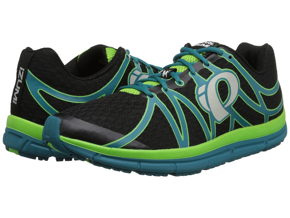 Pearl Izumi - Em Road M 2 (Black/Harbor Blue) Men's Running Shoes