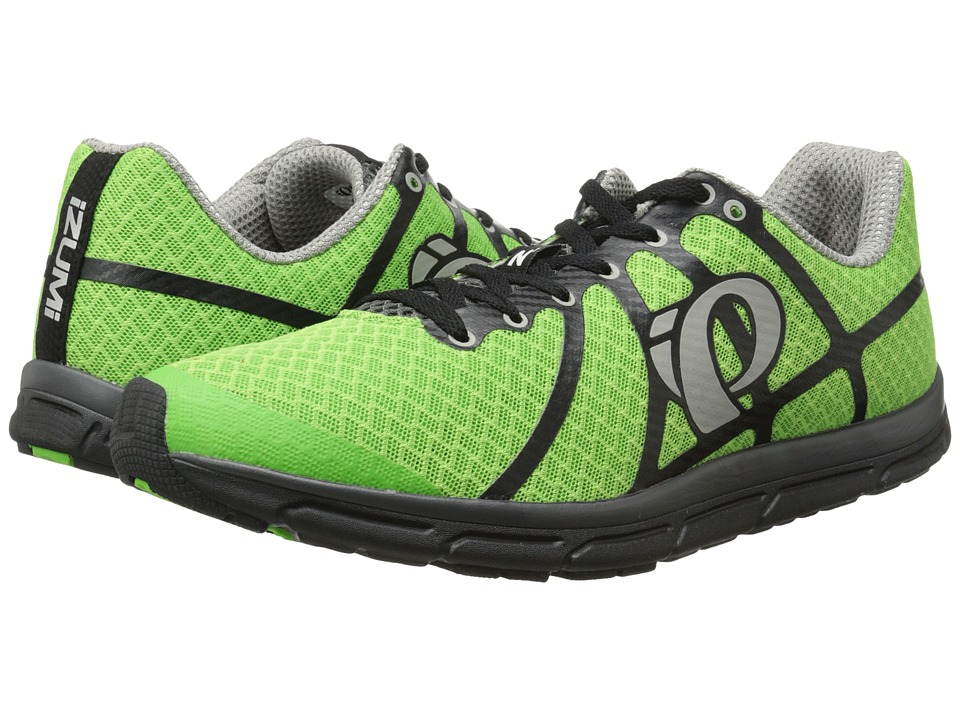 Pearl Izumi - Em Road N 1 (Green Flash/Black) Men's Running Shoes