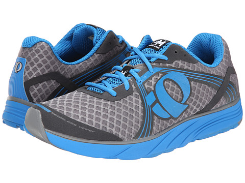 Pearl Izumi - Em Road H 3 (Grey/Brilliant Blue) Men's Running Shoes