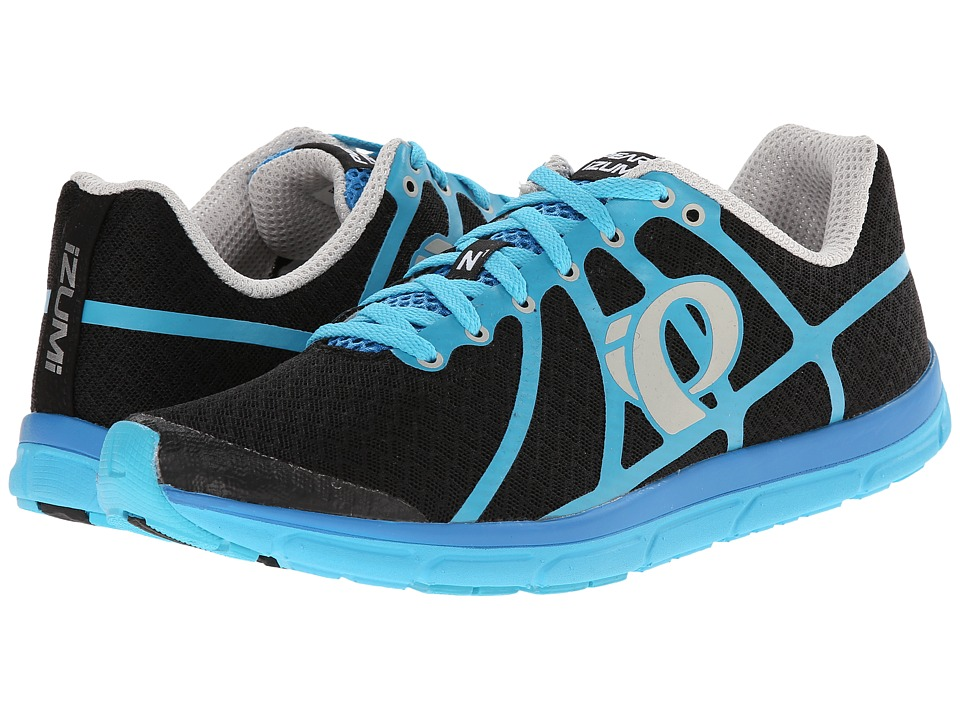 Pearl Izumi - Em Road N 1 (Black/Blue Atoll) Men's Running Shoes