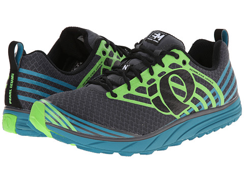 Pearl Izumi - Em Trail N 1 (Harbor Blue/Green Flash) Men's Running Shoes