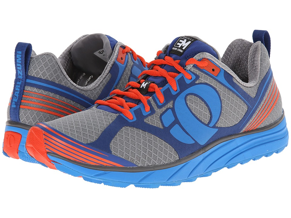 Pearl Izumi - Em Trail M 2 (Grey/Brilliant Blue) Men's Running Shoes
